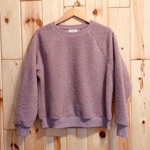 Universal Thread Cozy Fuzzy Oversized Sweatshirt M